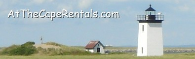 At The Cape Rentals Banner