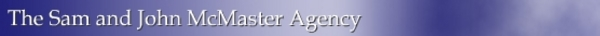 The Sam and John McMaster Agency Banner